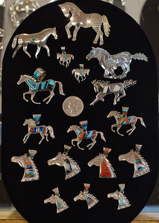 A sampling of our horse-themed jewelry