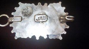 JMB hallmark petit point concho belt