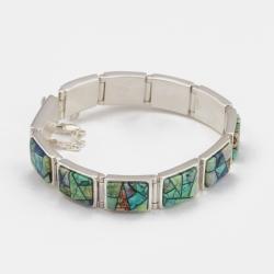 Calvin Begay Opal Link Bracelet